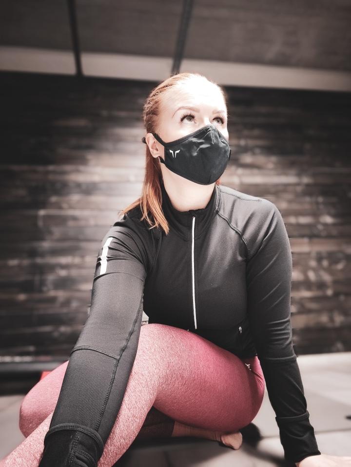 Maskin kanssa treenaaminensalilla